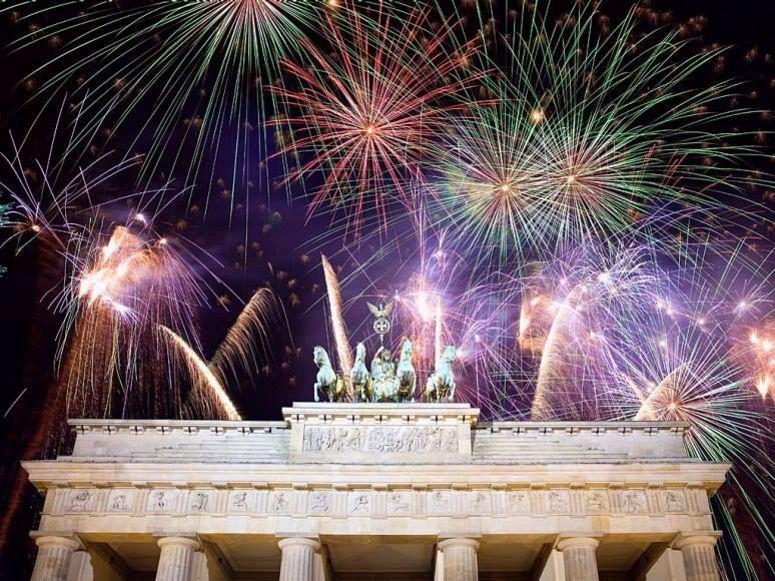 New Year's Eve Berlín