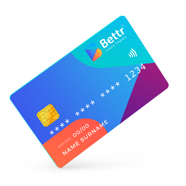 Visa Debit Card Image from https//bettr.finance a new