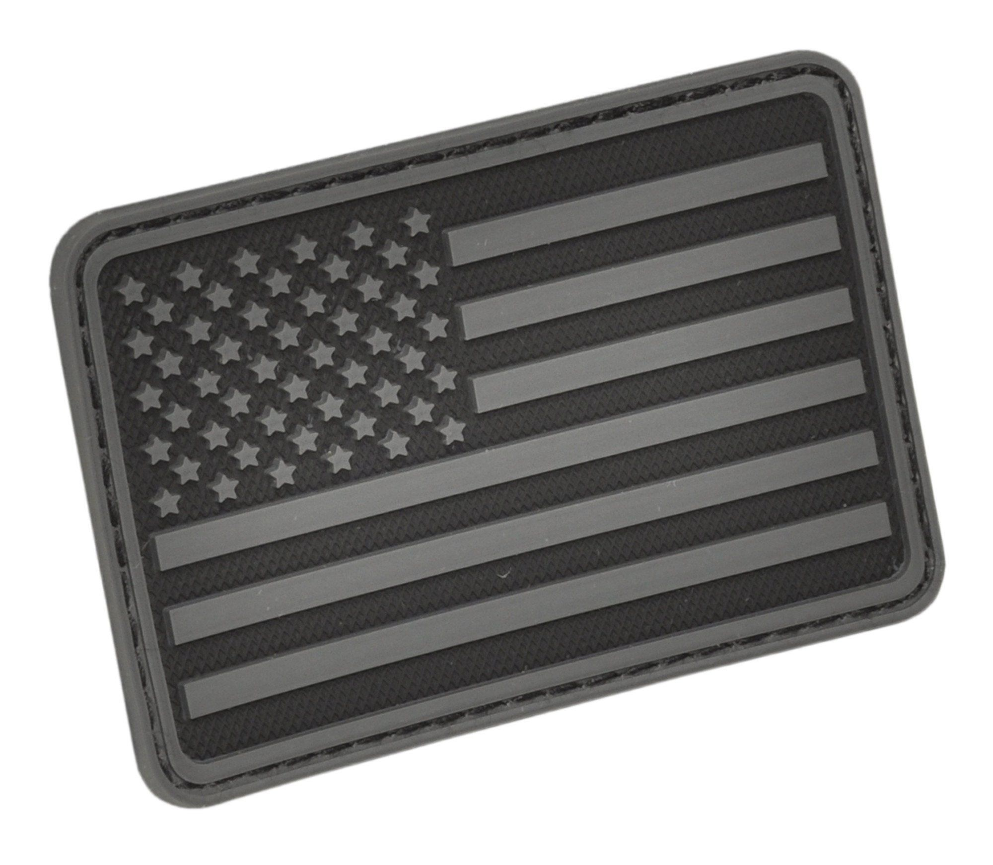 Hazard 4 Usa Flag Left Arm Rubber Patch R Ad Flag Sponsored Usa Hazard Left Patches American Flag Patch Velcro Patches