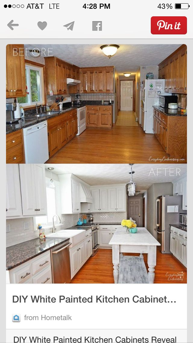 before and after decor painting kitchen cabinets kitchen paint kitchen on kitchen cabinets painted before and after id=91625