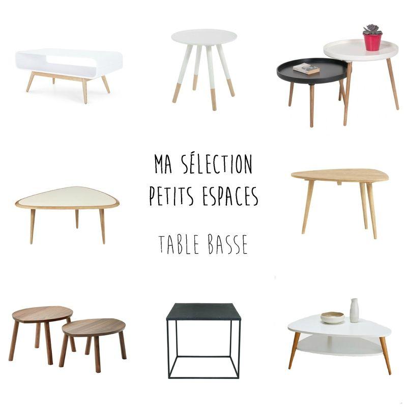 selection table basse petit salon livingroom Pinterest Salons