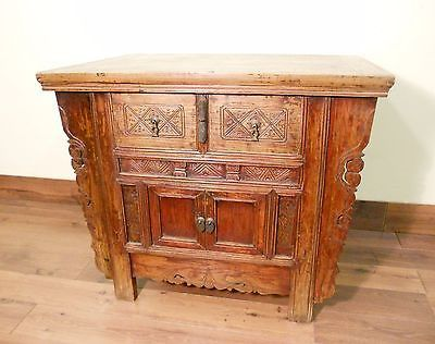 """Antique Chinese """"Butterfly"""" Coffer (5620), Circa 1800-1849"""
