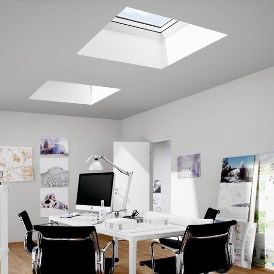 velux fen tre coupole pour toits plats muuuz products. Black Bedroom Furniture Sets. Home Design Ideas