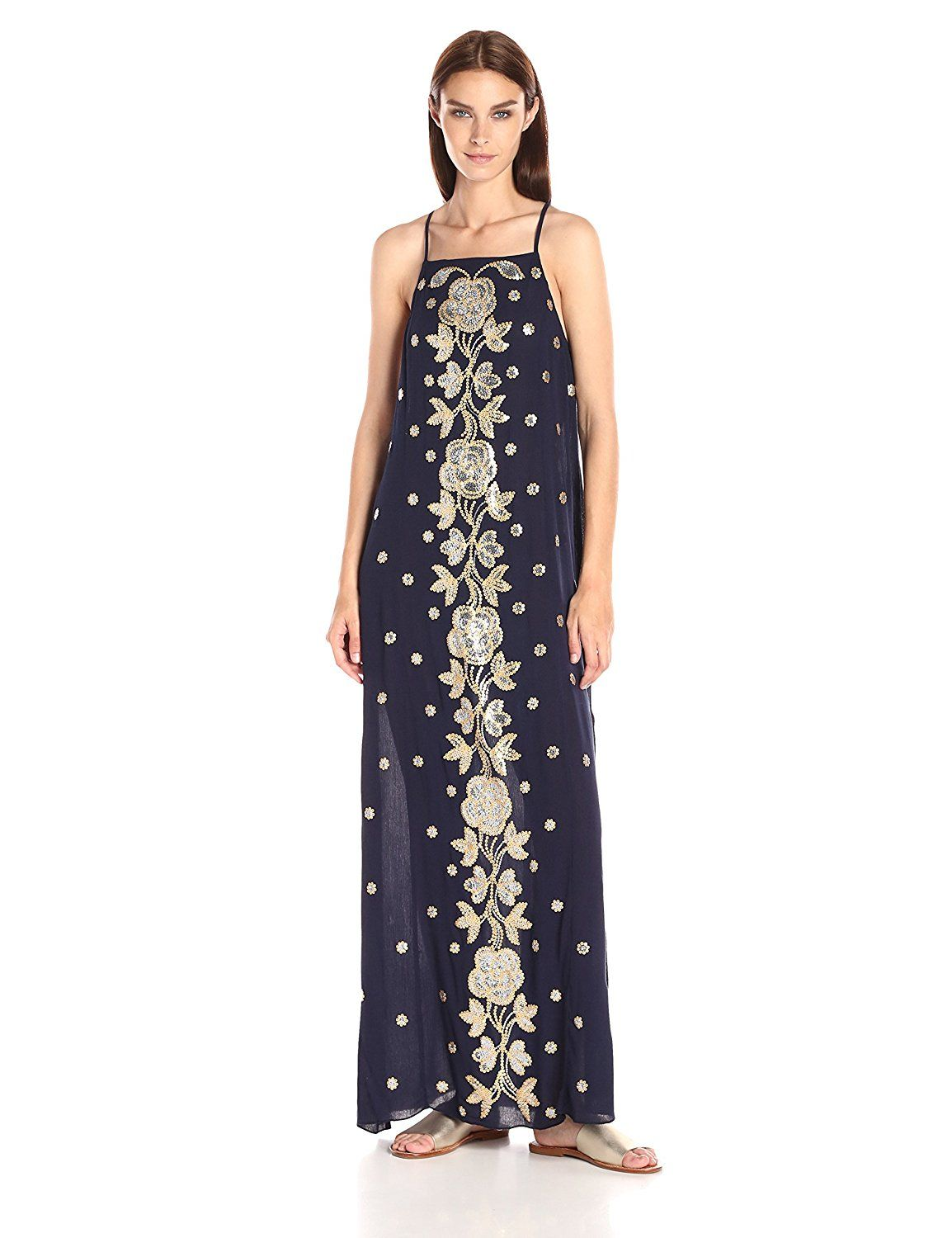Ark and Co Women s Sequins Embroidered Shift Dress   Check out this great  image   Women s eb30d5cbac68