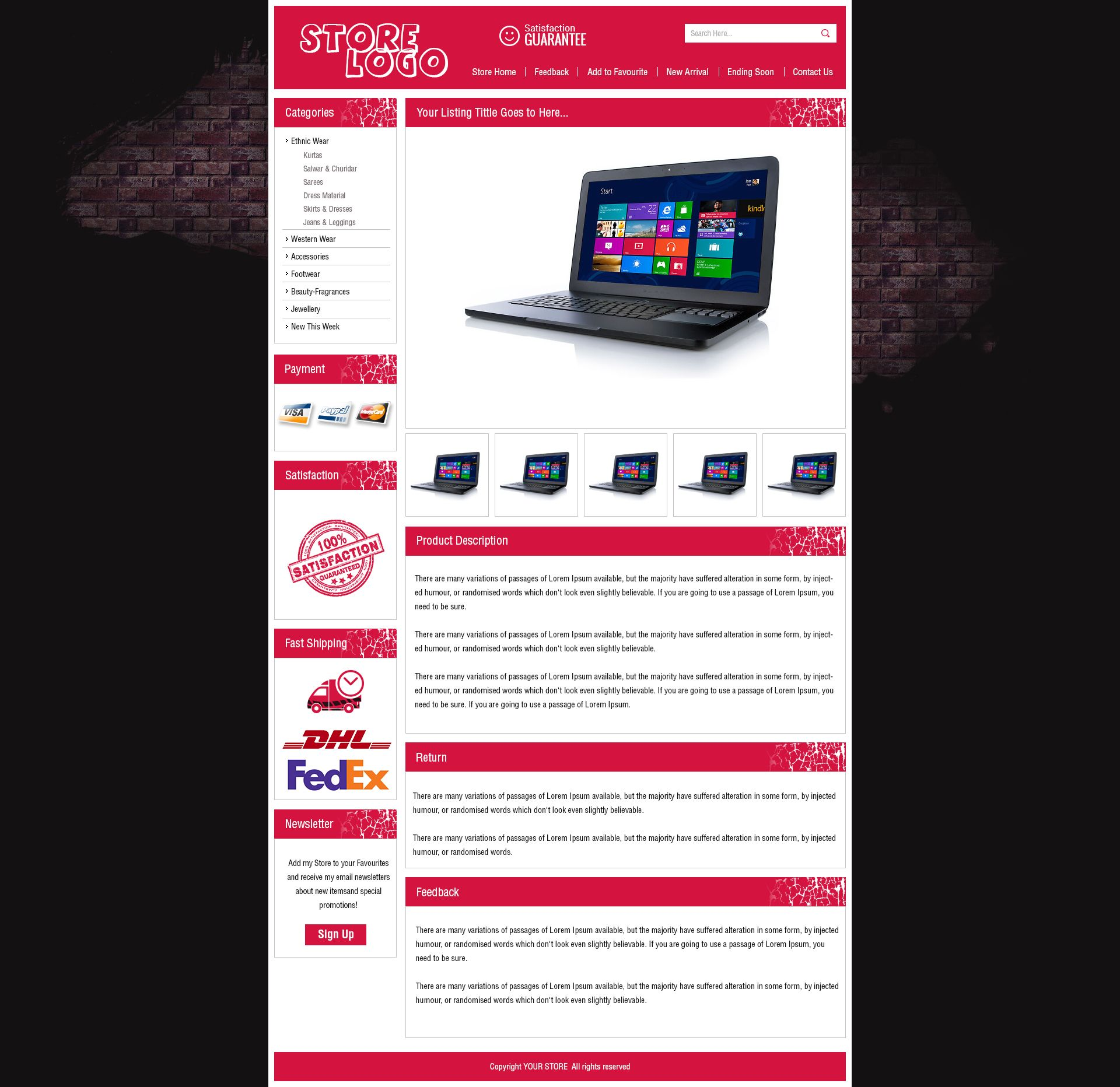 Attractive EBay Auction Listing Template HTML With Dynamic - Invoice format in word free download ebay store online