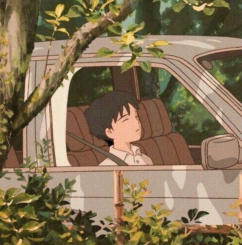 R O S I E Aesthetic Anime Anime Scenery Ghibli Art