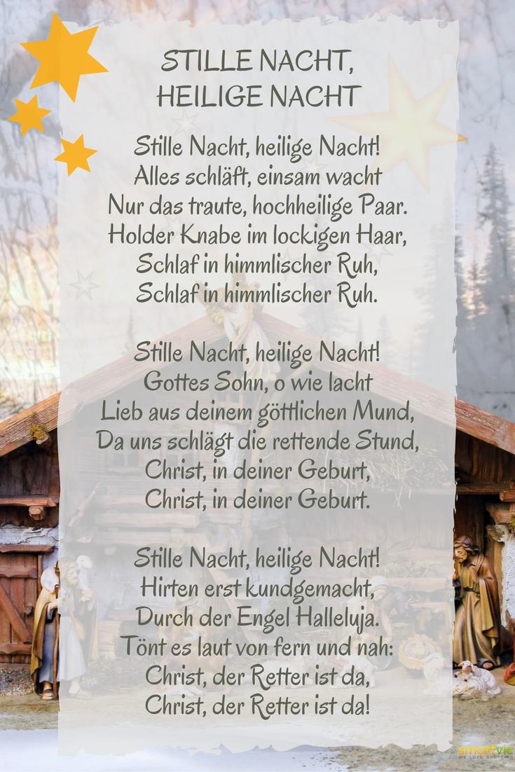 Das weltweit beliebteste Weihnachtslied zum Auswendiglernen ...