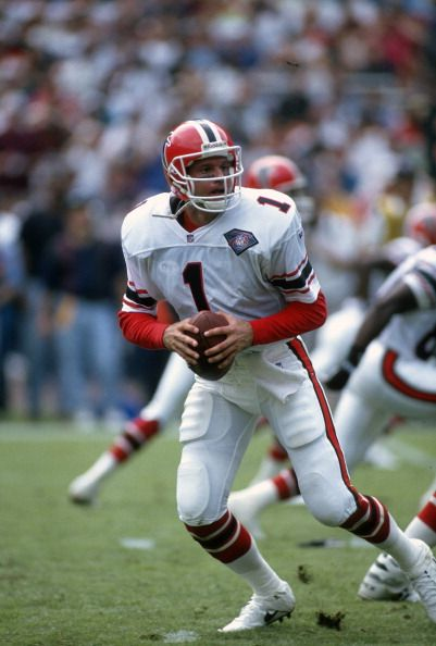 Jeff George Falcons Pictures And Photos Falcons Football Football Usa Football Cheerleaders