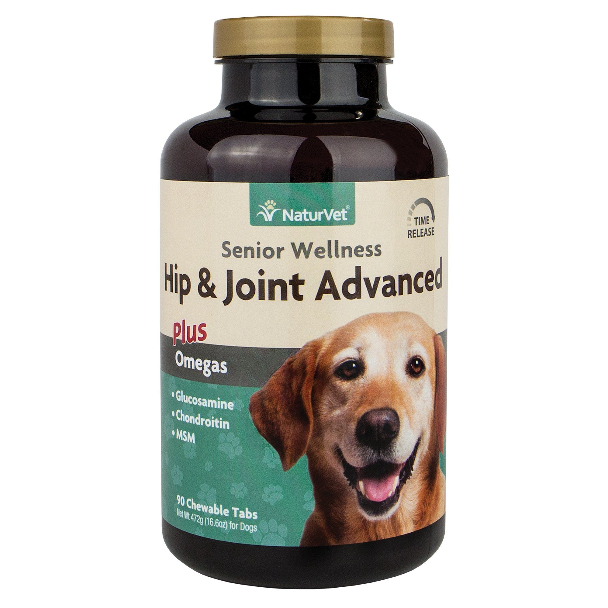 Naturvet Senior Joint Tablets Advanced Formula With Time Release