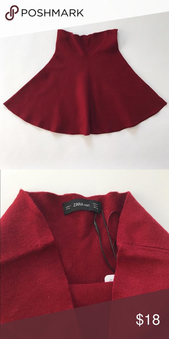 90bfd2b88 Zara knit skirt Brand new with tag. 55% viscose 26% polyester 19% nylon.  Waist 27