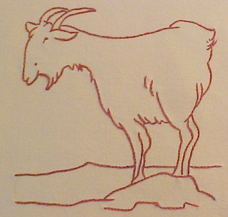 Block #10 of Ruby McKim's Farm Quilt design set. Blogged at www.gettingtocrazy.blogspot.com