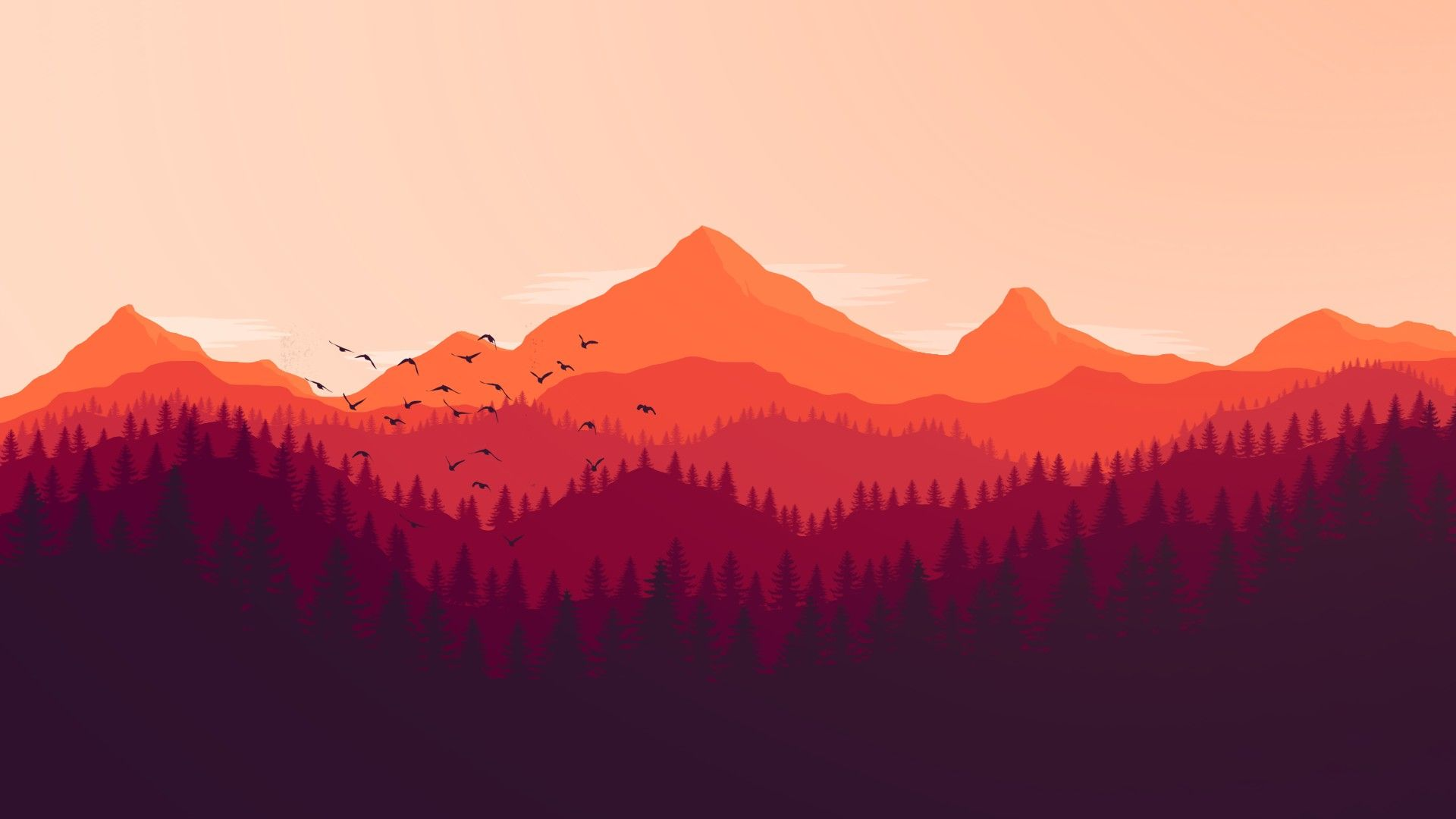 Firewatch Wallpapers For Iphone For Widescreen Wallpaper On Flowerswallpaper Info If You Like It Iphone A In 2020 Firewatch Logo Wallpaper Hd Game Wallpaper Iphone