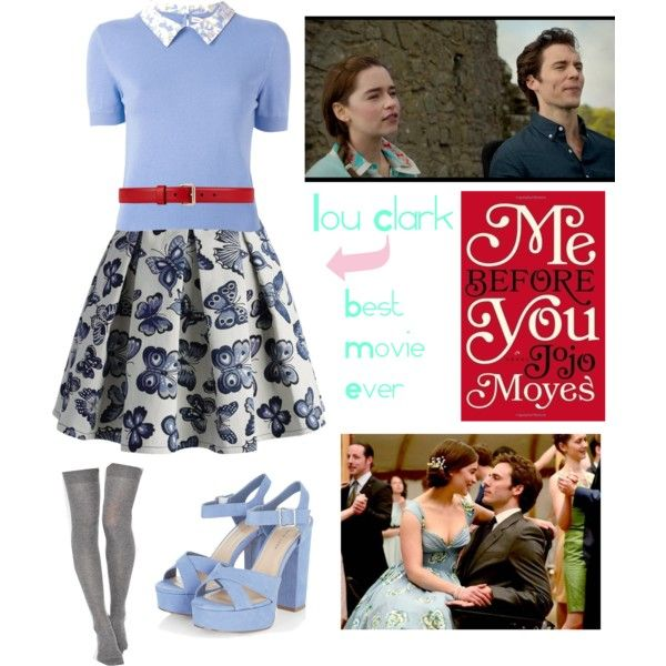 9d3267d937b Me before you    Lou Clark by beth-why-not on Polyvore featuring polyvore