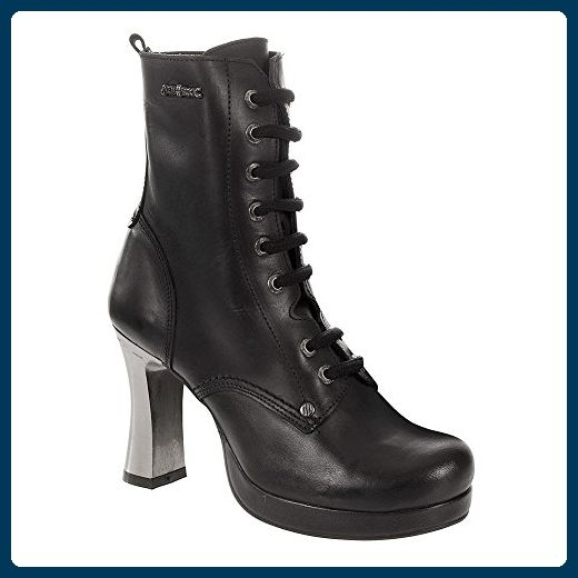 New Rock Stiefel Boots Damen gothic schwarz M.TR028-S1