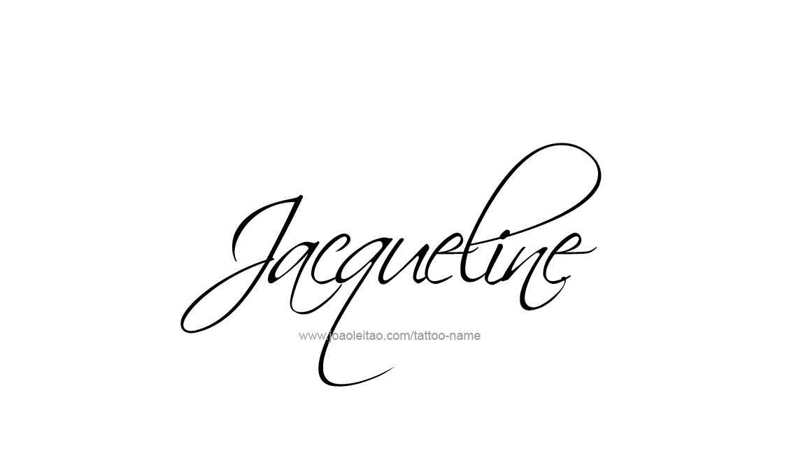 Jacqueline Con Letra