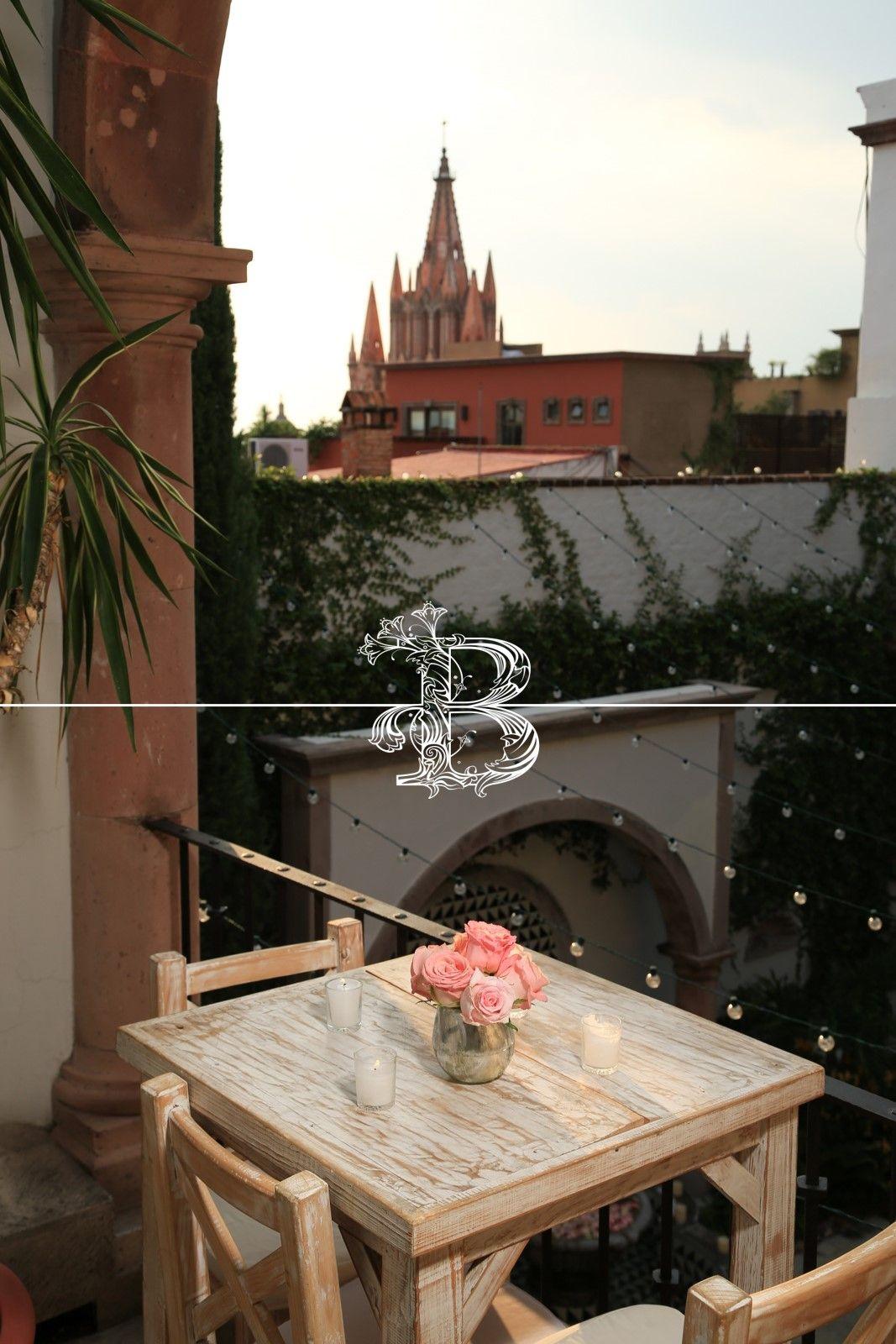 Linda vista el día de tu boda en San Miguel de Allende, Gto. Boda San Miguel de Allende Bougainvillea San Miguel, México. www.bougainvilleabodas.com.mx