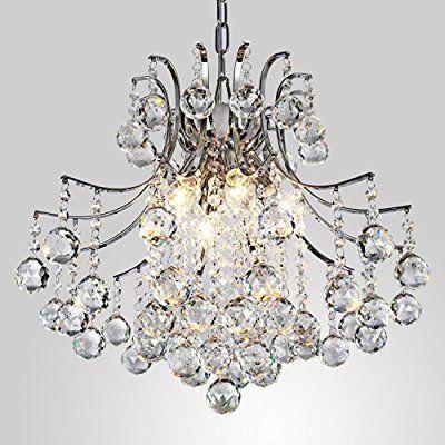 ALFRED Moderne Kristall-Kronleuchter mit 6 Leuchten, Modern - kronleuchter modern schlafzimmer