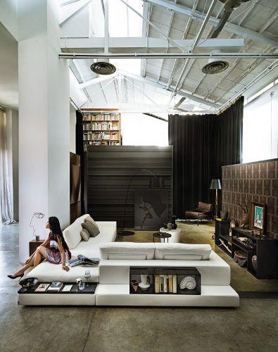 Arketipo Plat Sectional  Sofas  Furniture Bespoke furniture Basement furniture
