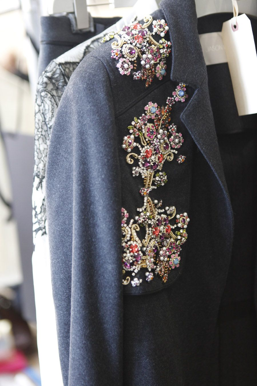 Trench Coat with Swarovski Elements-Fall 2011