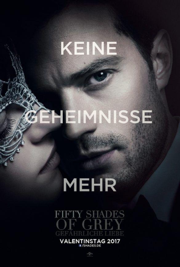 Zweite Verfilmung Des Weltweiten Bestsellers Und Phanomens Fifty Shades Of Grey Gefahrliche Liebe Ist Gestartet Rezension Gewinnspiel