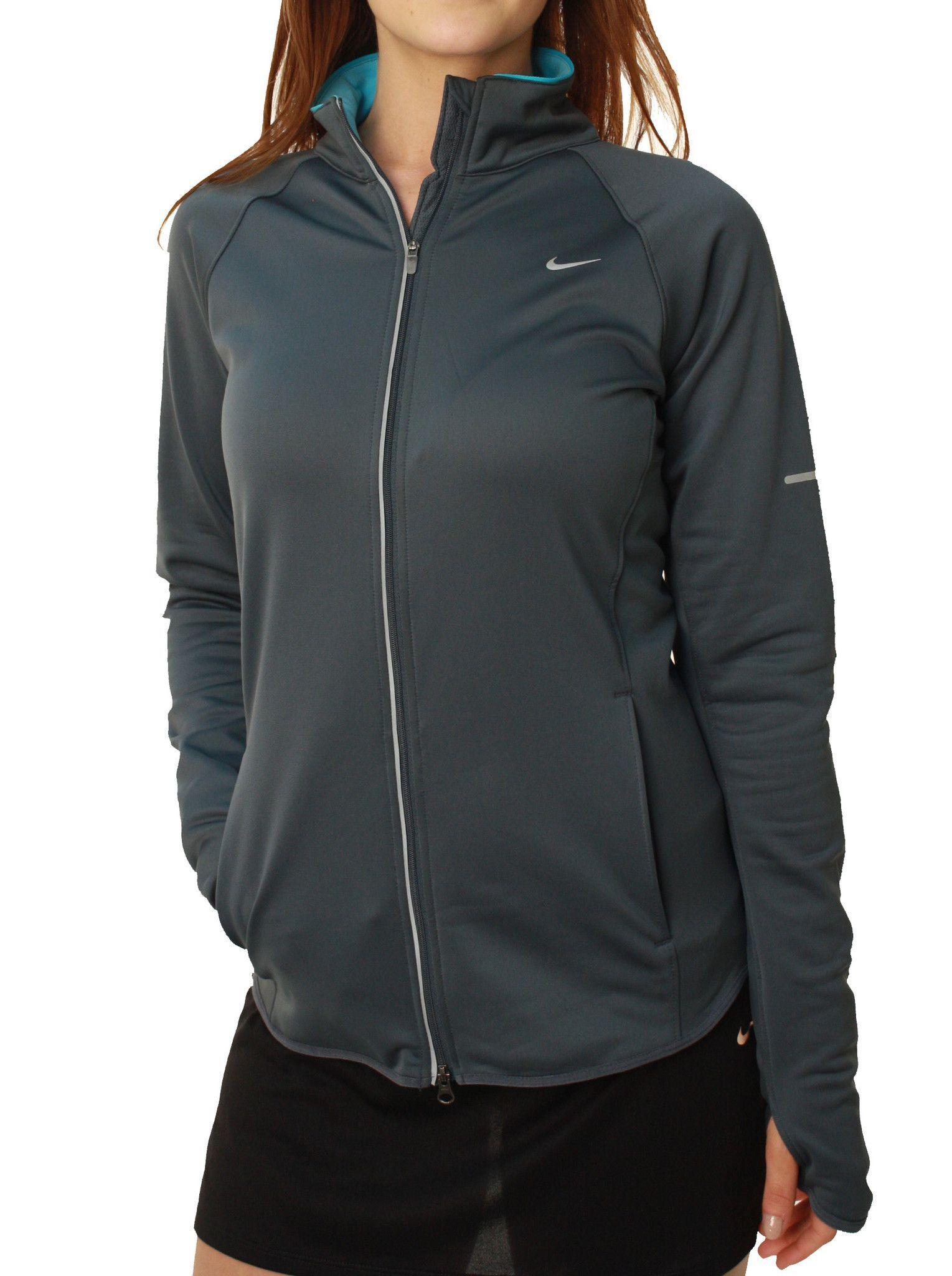 cba345ad8 Nike Women's Dri-Fit Element Thermal Full Zip Running Jacket | The ...