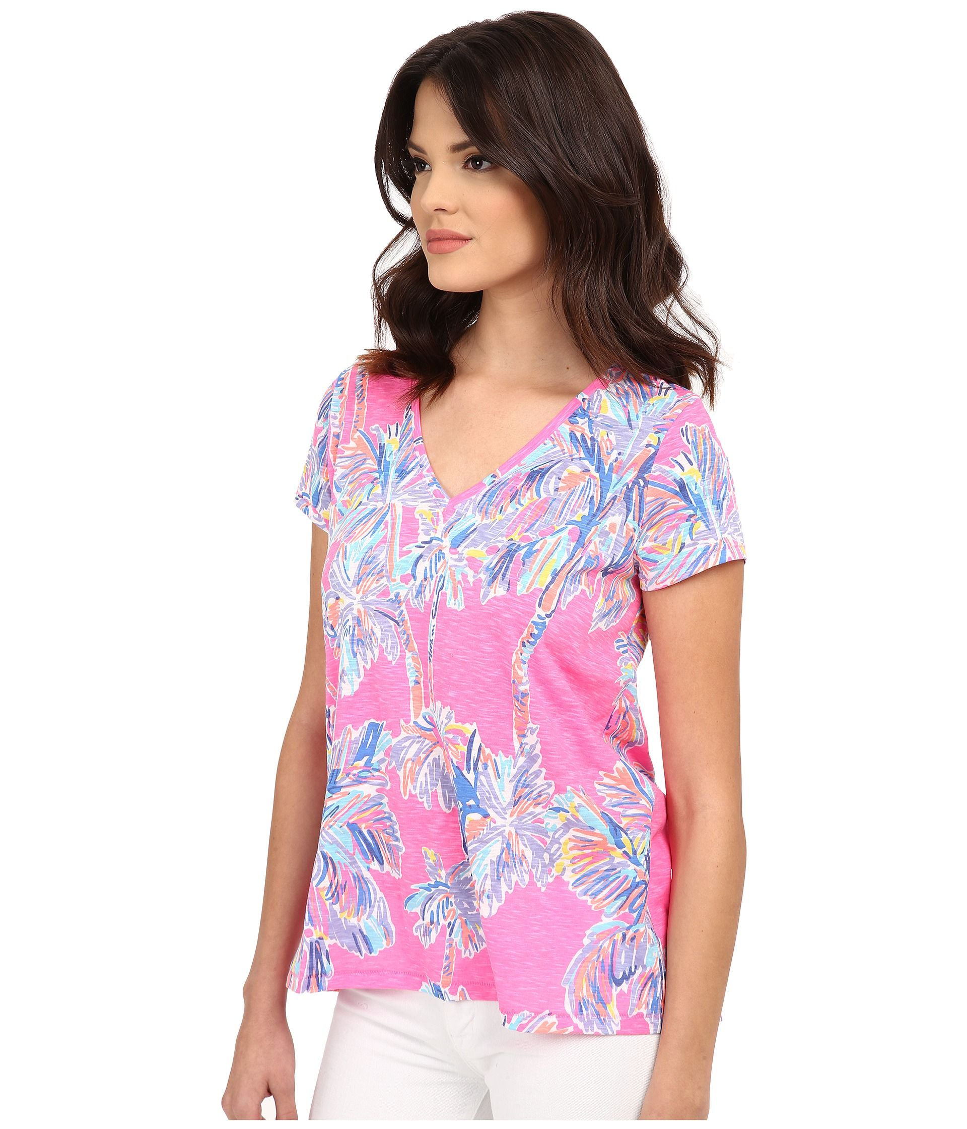 Etta Top in Flamingo Pink Nice Stems | Fiestas | Pinterest ...