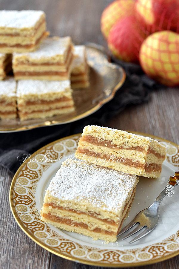 Doppelter Apfelkuchen - Rezept