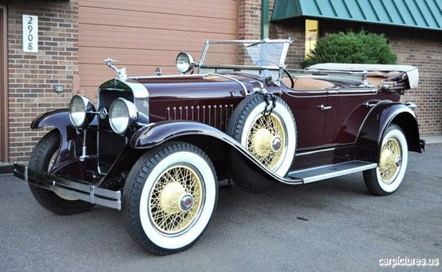 1928 Lasalle Dual Cowl Sport Phaeton La Salle Brand Marketed By General Motors Cadillac