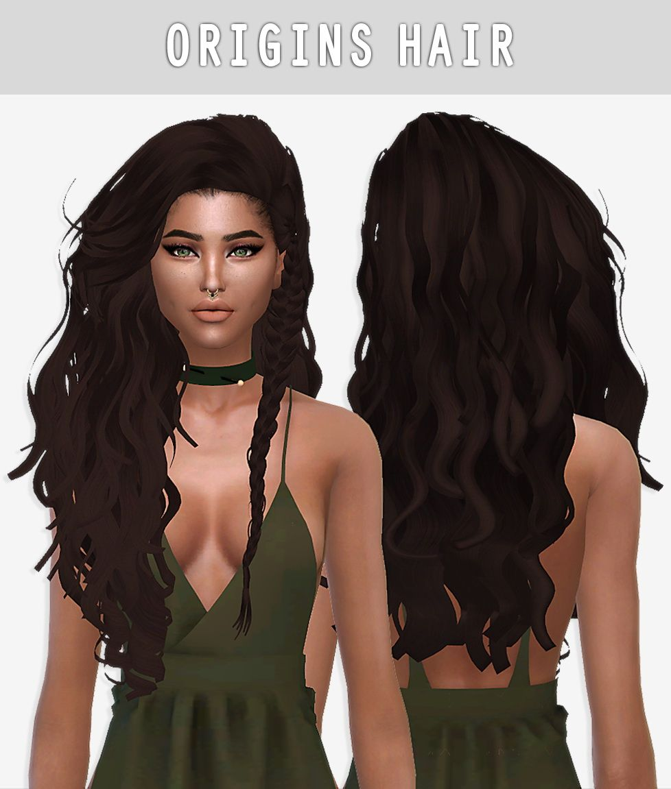 Curly Hair Download Sims 4 Cc: Pin On Sims 4 Hairs