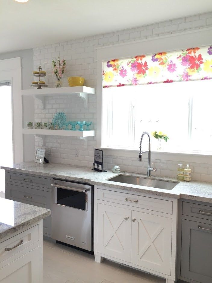 sophisticated gray kitchen cabinets with a white farmhouse style accent cabinet for the sink on farmhouse kitchen gray id=17096