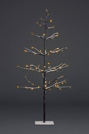 Buy Lit 4ft Snowy Twig Tree from the Next UK online shop - Buy Lit 4ft Snowy Twig Tree From The Next UK Online Shop Christmas