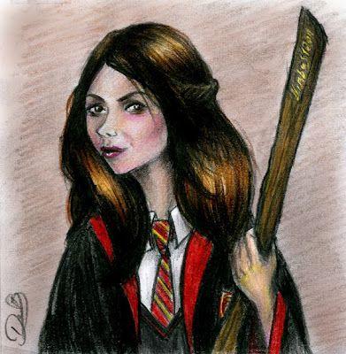 Pottermore Insider Harry Potter Art Harry Potter Fan Art Katie Bell