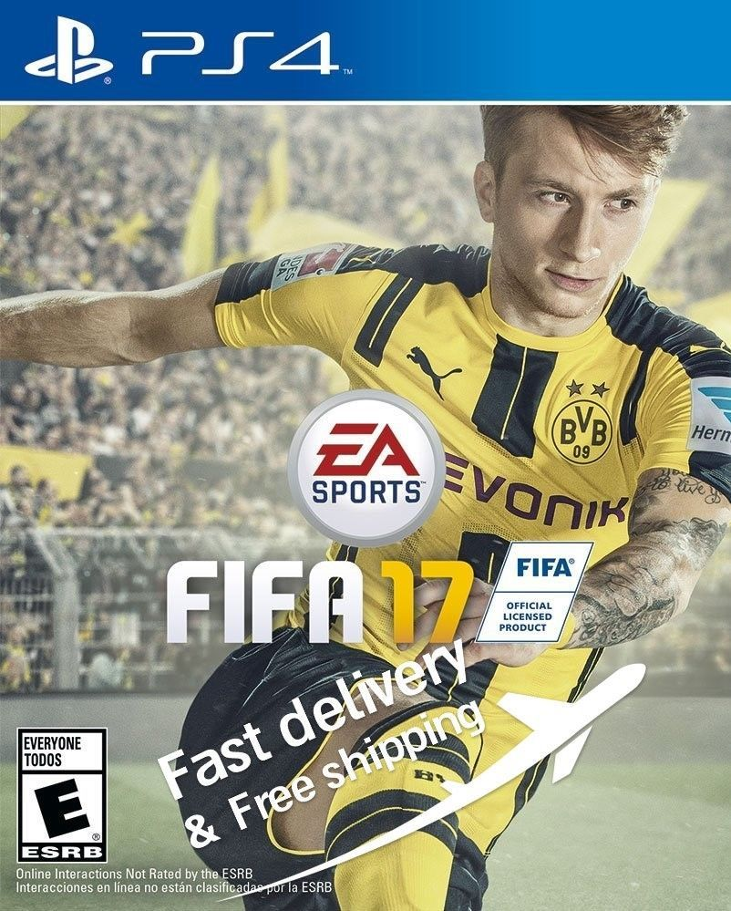 Soccer Football Video Game Fifa 2017 For Playstation 4 Standart Edition Fifa 17 Fifa 17 Ps4 Xbox One Games