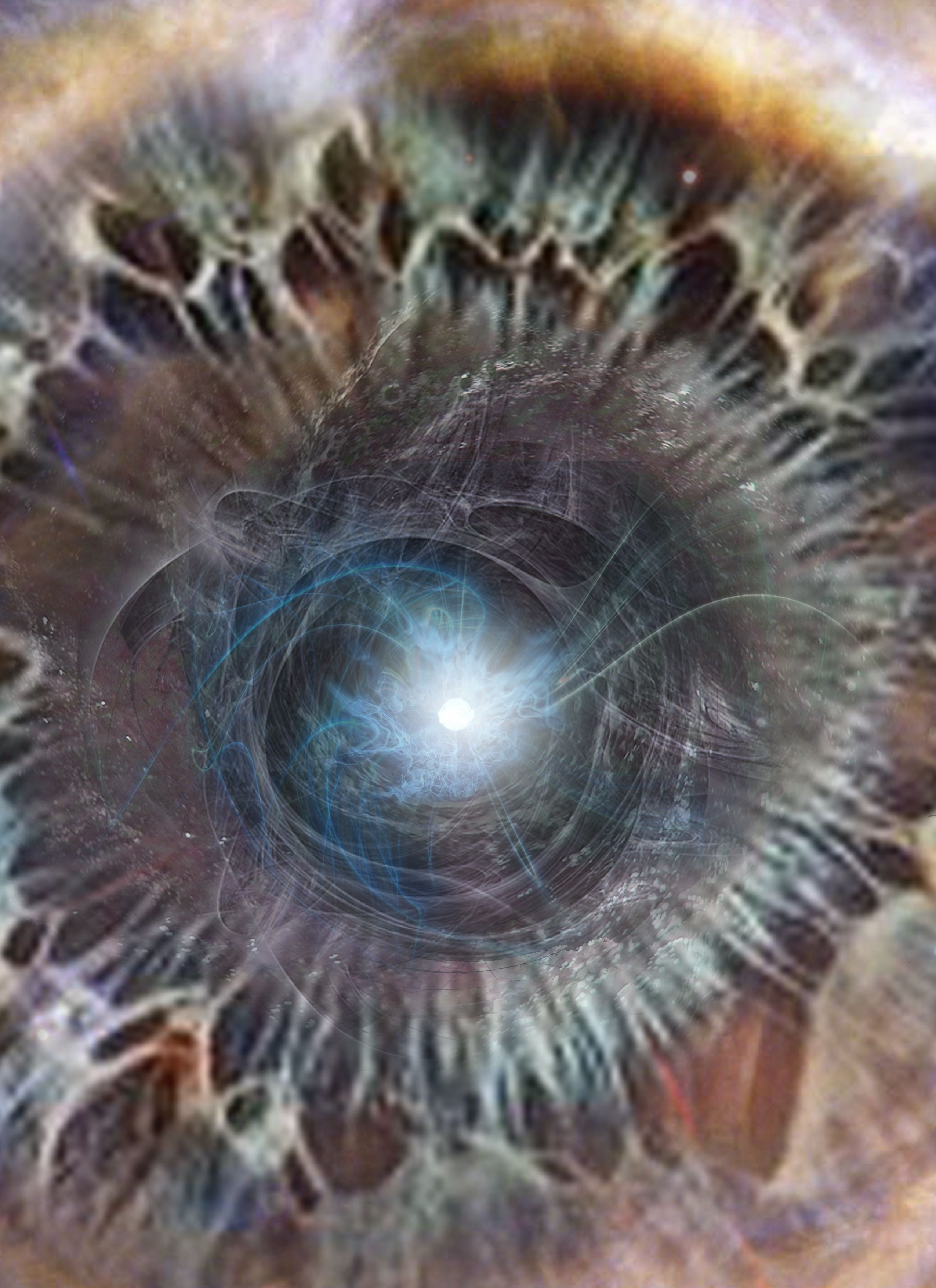 Big Bang Singularity - Environment: Multispace - Other: It is a blackhole that ate too many forces such as dark energy and is now exploding outward from a single infinity point.   Arcadia  - Cheryl Feeley