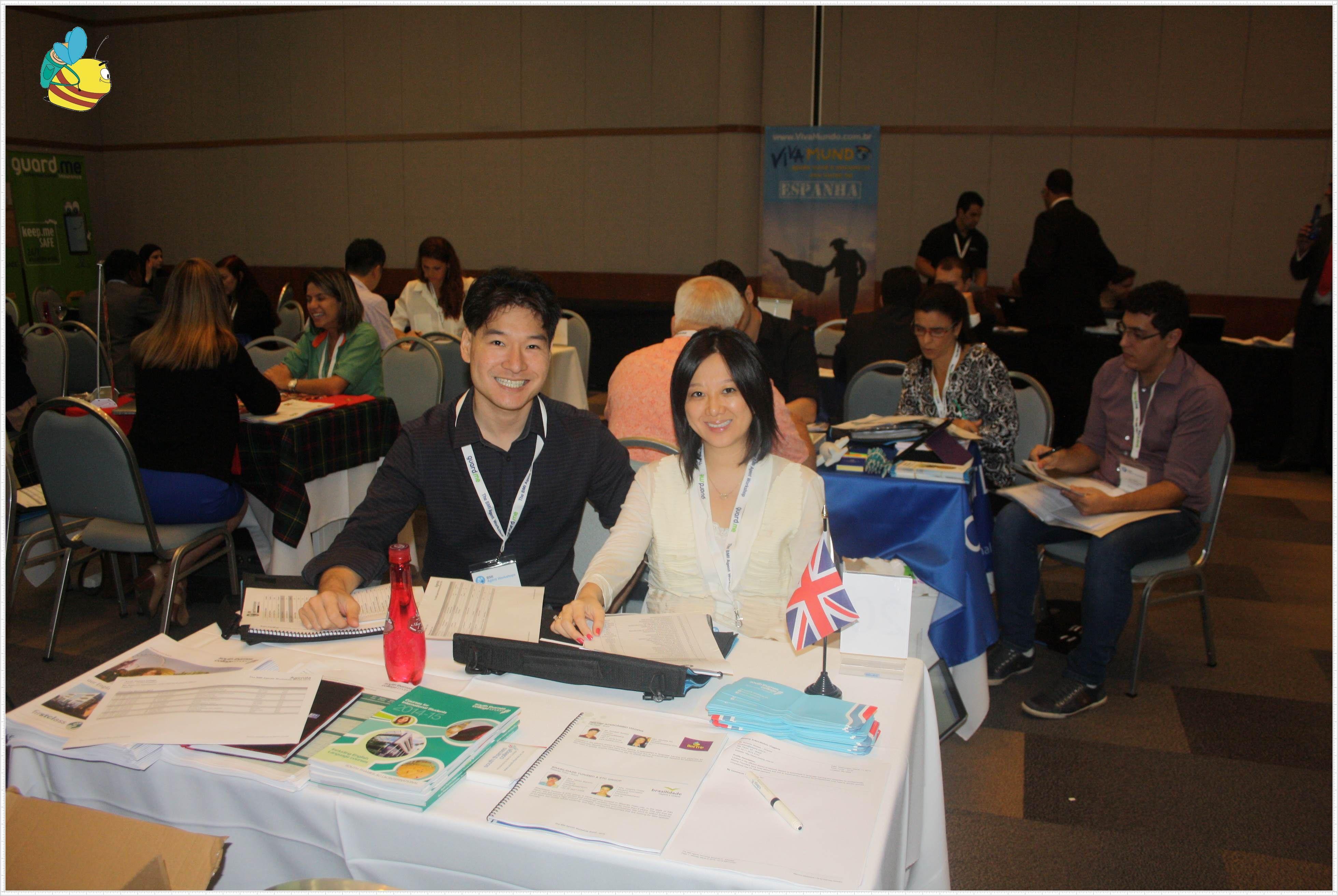 Beetrip foi convidada para A BMI Agents Workshop, feira exclusiva para agências de intercâmbio, realizada pela BMI   Tivemos a oportunidade de encontrar com nossos parceiros internacionais e saber mais das novidades do mercado de Higher Education. Nos aproximamos mais de universidades dos Estados Unidos, Inglaterra e Suiça. Encontramos com antigos parceiros de HighSchool nos EUA e no Canadá. Além de algumas Community Colleges na Califórnia e também de outros Estados da América do Norte.