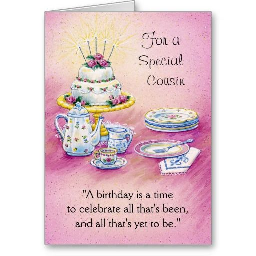 Birthday Wishes For Cousin Funny ~ A happy birthday cousin card cake pinterest cakes birthdays