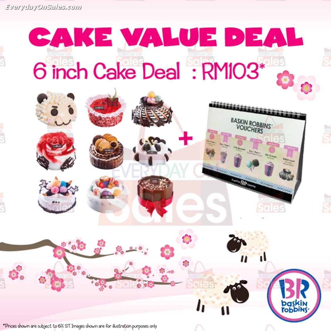 9 Feb 2015 Onward Baskin Robbins Cake Value Deal Promotion