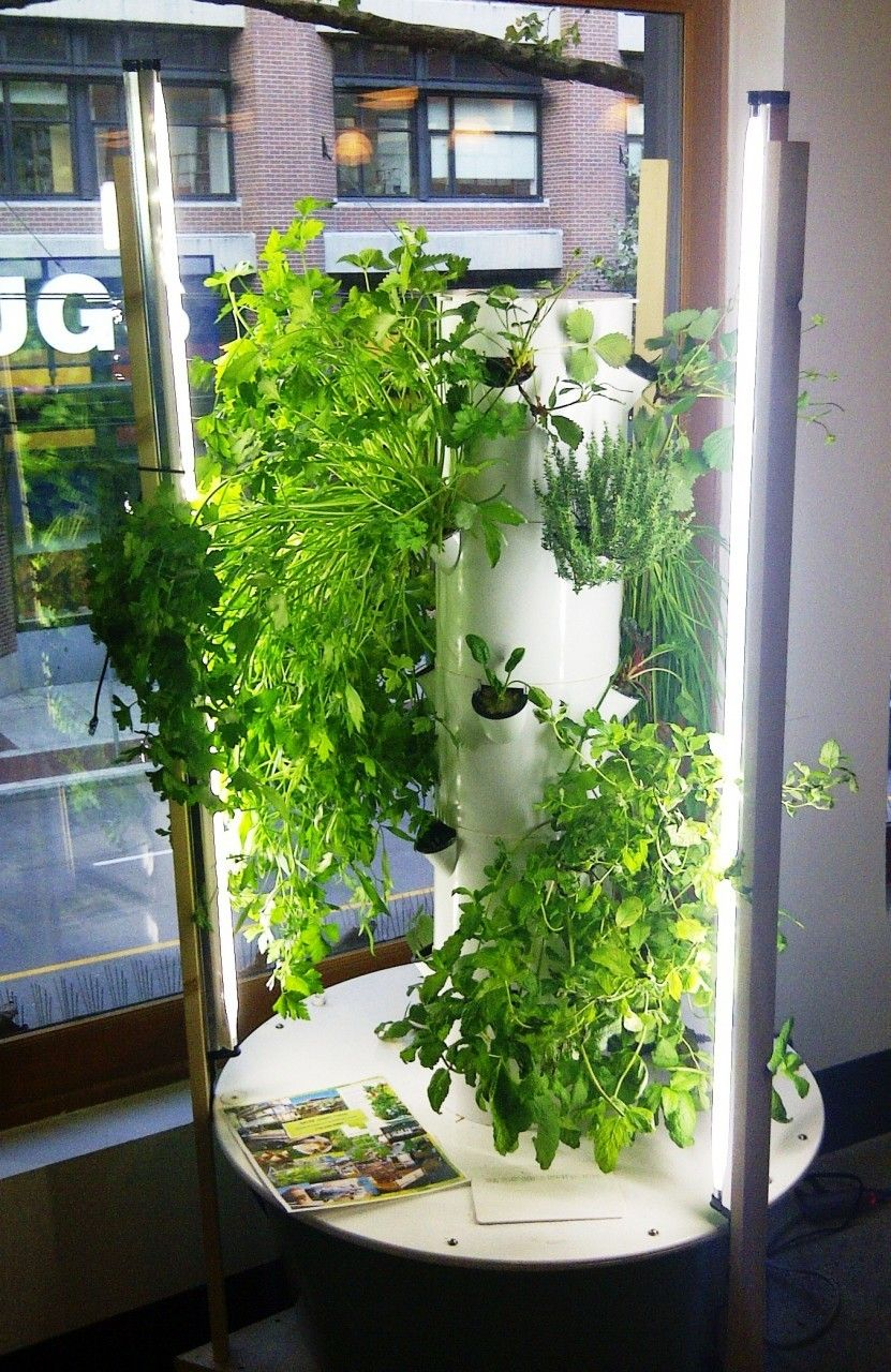 Tower Garden growing system Home Harvest Farms. Amazing