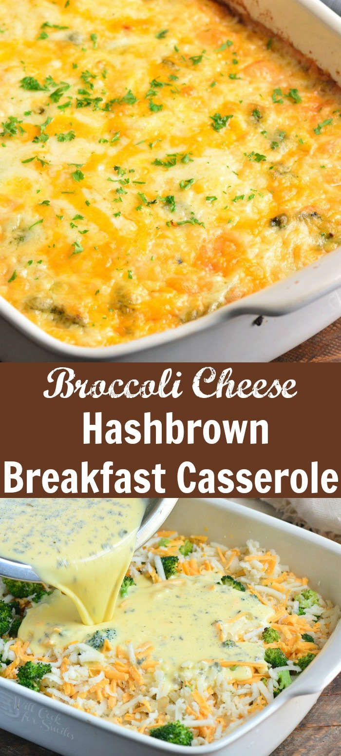 Broccoli Cheese Hash Brown Breakfast Casserole Recipe Comforting Hash Brown Bre Hashbrown Breakfast Casserole Breakfast Recipes Casserole Breakfast Hashbrowns