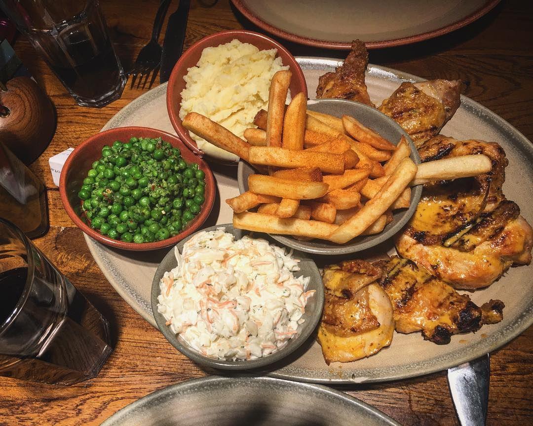 """I'll take two fuckin' chicken"" @nandosuk #nandos #chicken #food #instafood #foodgasm #foodie #foodpic  #foods #foodporn #foodlover #foodpics #instafoodie @grettusa"