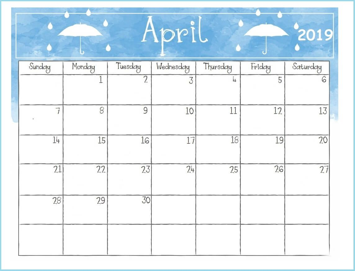 Printable 2019 Desk Calendar Desk Calendars Desk Calendar
