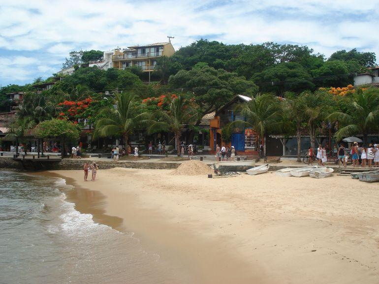 Lay on a beach in Buzios #travel #brazil