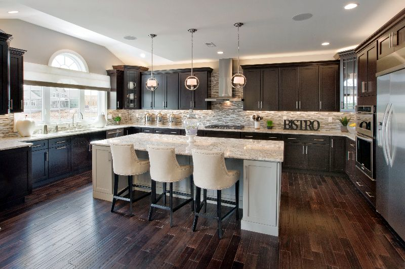 For those who love to cook turn your kitchen into your very own bistro. (Toll Brothers Reserve at Salford, PA)