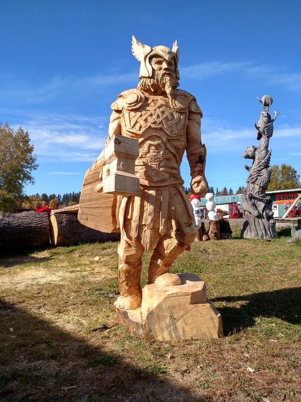 Afbeeldingsresultaat voor chainsaw carving wood