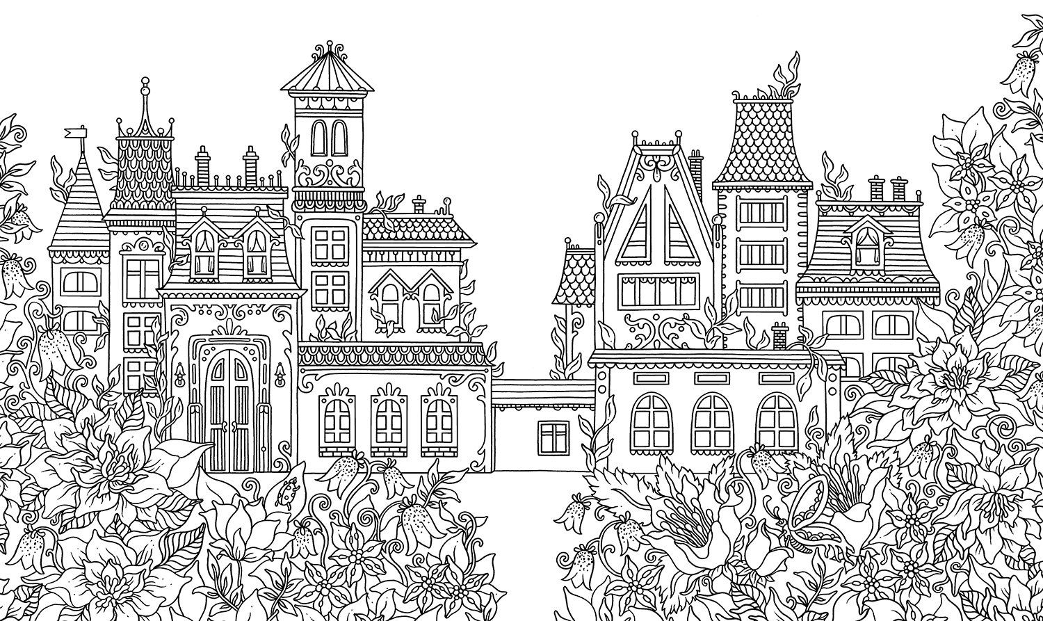 Jewelry Box Coloring Book Published In Sweden As Smyckeskrinet Hanna Karlzon 9781423649861 A Coloring Books Vintage Coloring Books Mandala Coloring Books