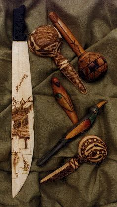 Traditional and Folk Pyrography