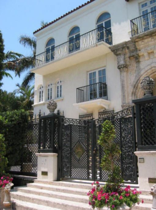 Versace Mansion Of Donatella