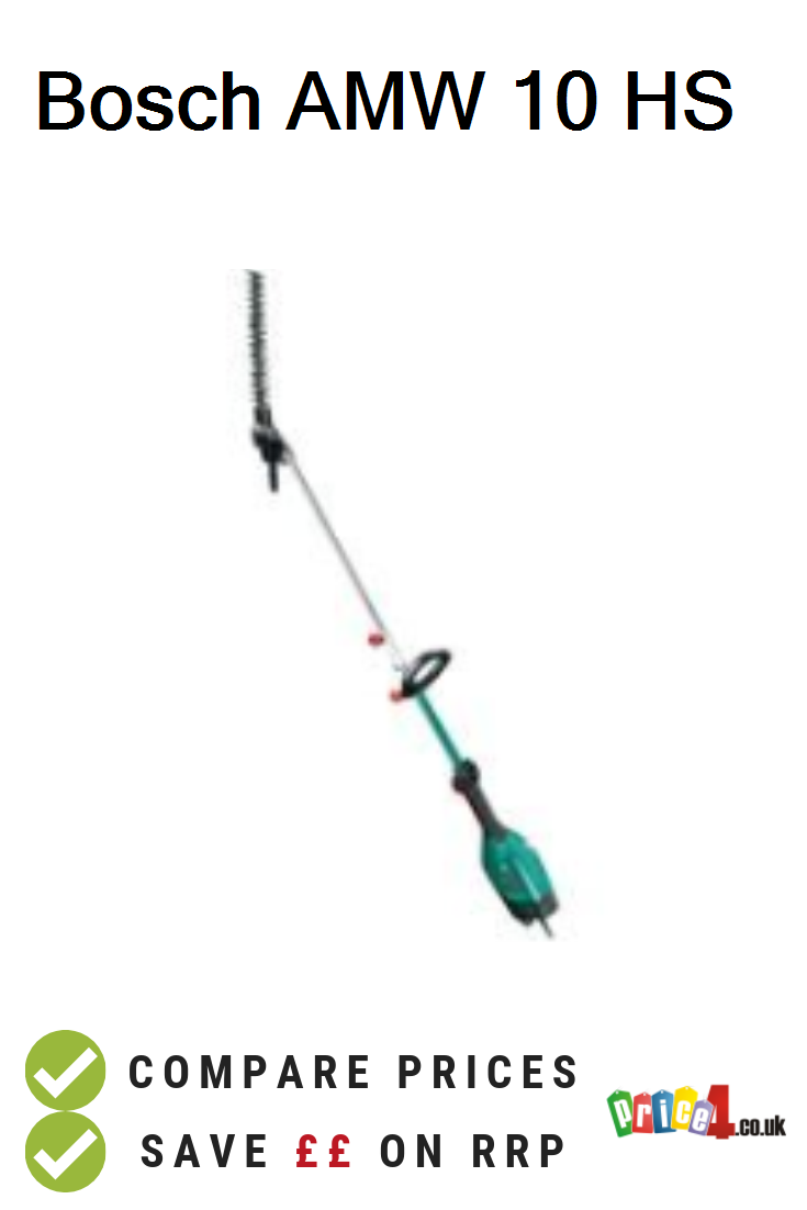 Bosch Amw 10 Hs Uk Prices Bosch Amw 10 Hs Multi Tool With Pole Hedgecutter Attachment Deals And Vouchers Bosch 10 Things Compare
