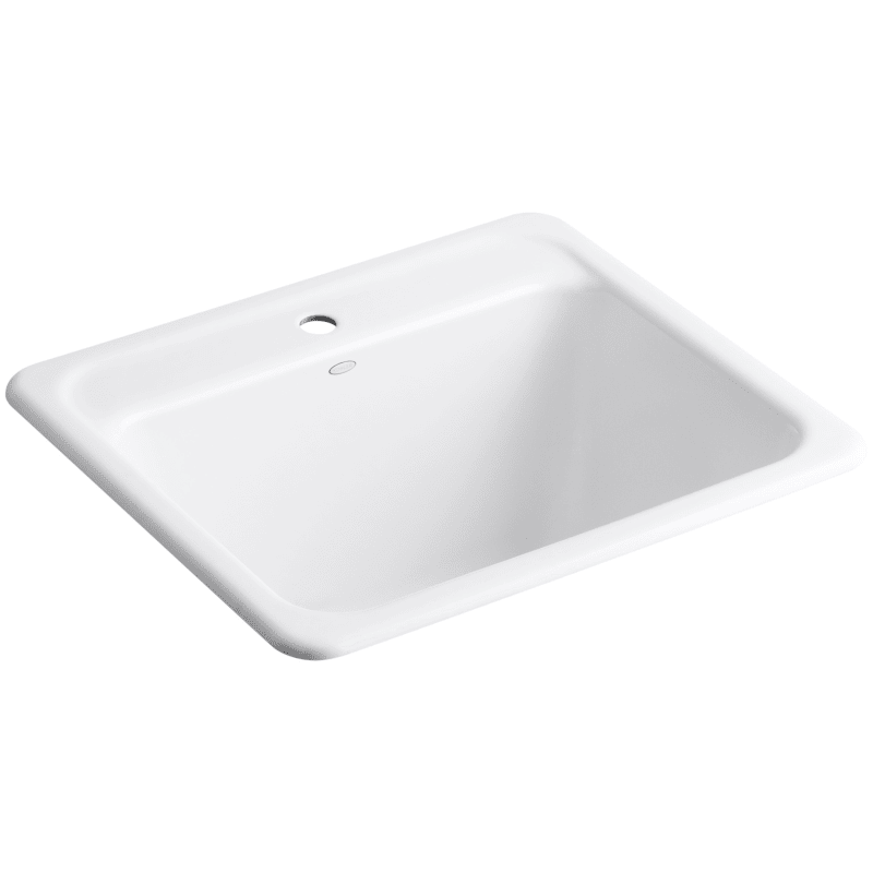 Kohler K 19017 1 Glen Falls 25 Single Basin Undermount Or Drop In