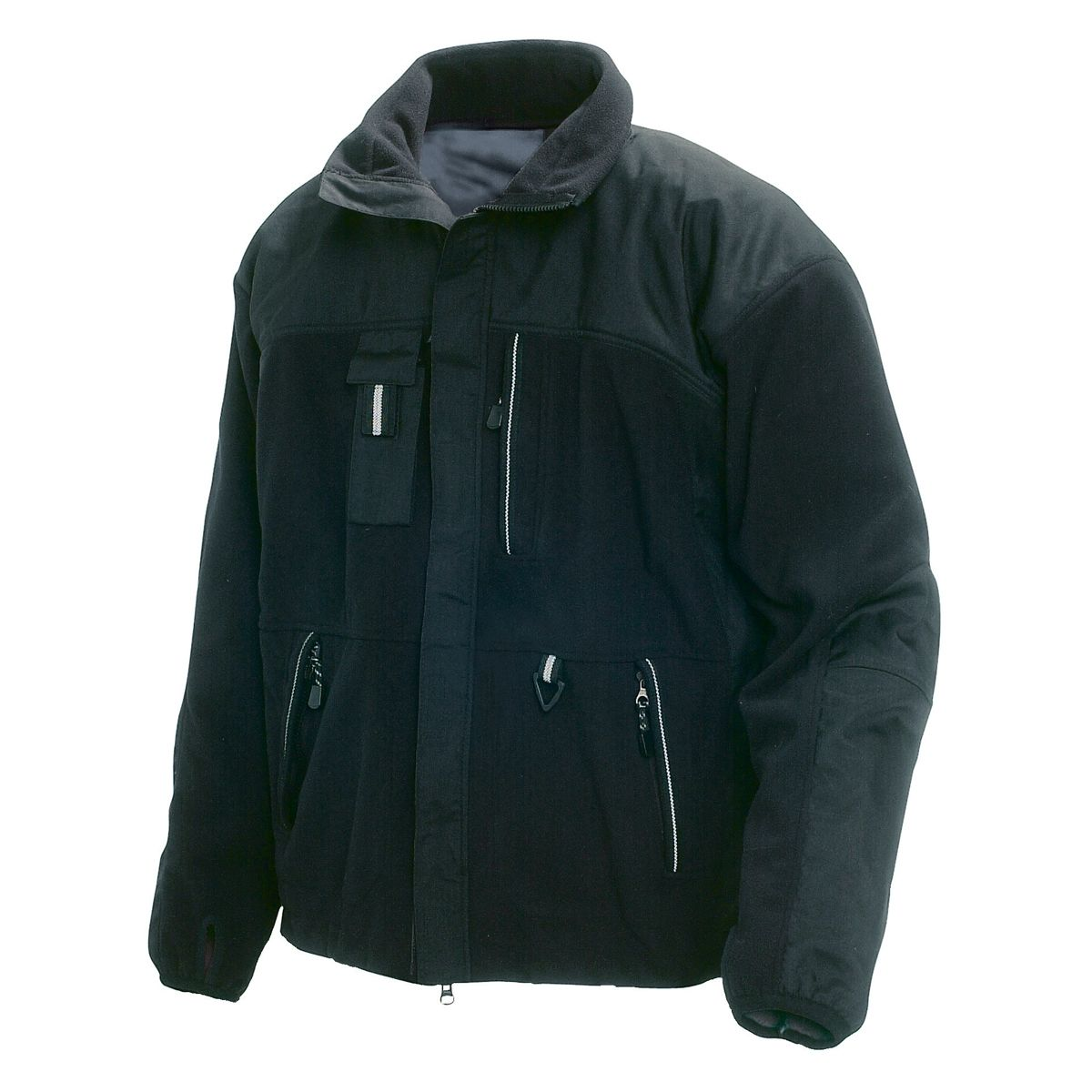 ... Jacket - Black - Think your work is too tough for fleece  Then you  haven t tried the Two Fisted. It has strategic Cordura reinforcements in  high-wear ... da1e557d34